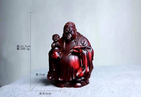 人们常把福与寿禄组合在一起来表达一种美好愿望是中国民间信仰的三位神仙象